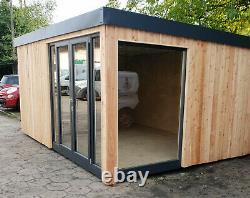 15m2 Self Build Insulated Garden Office DIY kit, Garden Room, Studio office