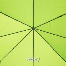 3m x 3m Metal Gazebo Marquee Outdoor Garden Party Tent Canopy Shelter Pavilion