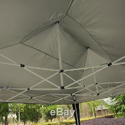 4.5 x 3m Garden Gazebo Heavy Duty Pop Up Marquee Party Tent Wedding Canopy Black