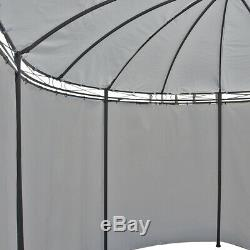 4X3M Metal Gazebo Pavilion Garden Tent Canopy SunShade Shelter Marquee Side Wall