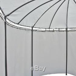 4X3M Morden Metal Gazebo Pavilion Tent Canopy Sun Shade Shelter Garden Patio