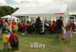 4m x 6m Gala Tent Garden Party Marquee Original (PE) Commercial Quality