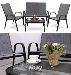 A set of garden furniture sofa + table + chairs