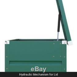 BillyOh Boxer Galvanized Steel Metal Storage Chest Box Garden Tool Store Unit