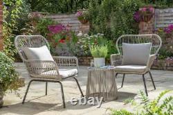 Elland Garden Furniture Bistro or L Shape Handpicked by Norfolk Leisure