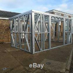 Garden Building Metal Frame, garden room, gym, home office, summer house
