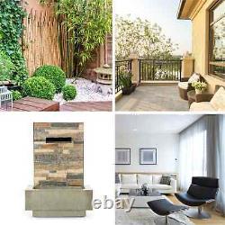 Garden Fountain Indoor Outdoor 15W Water Pump Home Patio Decoration Weatherproof