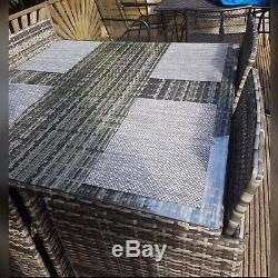Garden Furniture Set Chairs Sofa Rattan Cube Table New Model 2019 Patio Sale