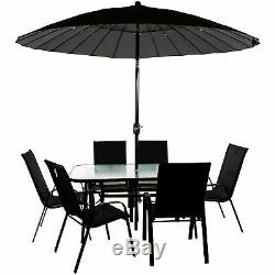 Garden Furniture Set Outdoor Patio Round Rectangular Bistro Table Chairs Seating