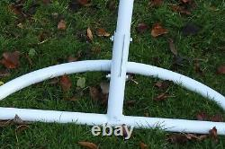 Garden Hanging Chair Hammocks Swing Egg Chair Pole Frame Stand White
