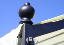 Garden Structure Pergola Outdoor Canopy Cover Roof Shade Patio Gazebo Car Port