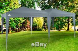 Gazebo 3x6m Capri Pop-Up Party Tent Outdoor Garden Patio Festival Canopy Marquee