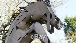 Giant Life Size Rearing Horse 330 cm Home/Garden Art Statue Ornament Sculpture