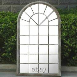 Gothic Rustic Arch Garden Mirror Indoor Outdoor Vintage Romance Glass Wall Large