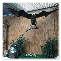 Handcrafted Metal Large Flying Eagle Sculpture/Statue Beautiful/Garden Art