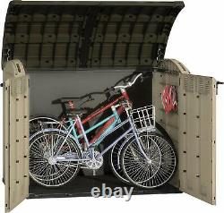 Keter Store It Out ULTRA Garden Lockable Storage Bike Shed 177 x 134cm XXL SIZE