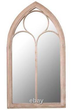 Large Garden Mirror Rustic Outdoor Church Metal Mirror 3ft8 x 2ft 112cm x 61cm