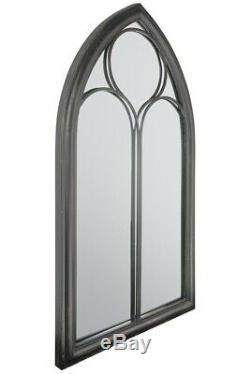 Large Wall Mirror 3ft8 x 2ft 112 x 61cm Outdoor Home & Garden Chapel Window S