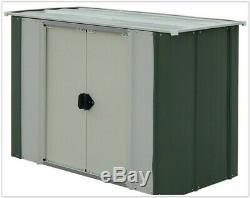 Metal Garden Storage Unit Bike Shed Outdoor Box Yard Patio Garage Cabinet Tools