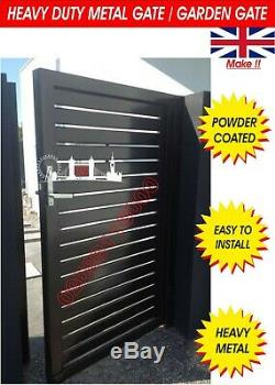 Metal Gate / Wrought Iron Gate / Garden Gate / Composite Wood Gate/ Steel Gate