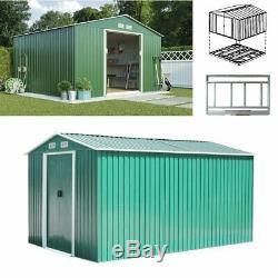New Metal Garden Shed 6 X 4, 8 X 6, 8 X 8, 10 X 9 Garden Storage with Free Base