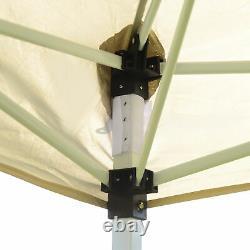 Outsunny 3 X 6 M Garden Patio Gazebo Wedding Pop-up Party Tent Canopy Sun Shade