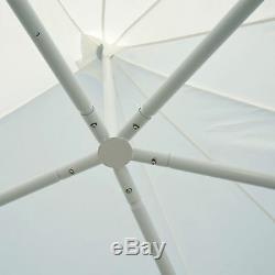 Outsunny 6.8 x 5m Garden Octagonal Gazebo Party Wedding Tent Heavy Duty Marquee