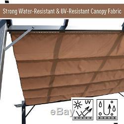 Pergola Gazebo Awning Canopy Sun Shade Shelter Aluminium 3M X 3M Garden