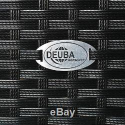 Poly Rattan Storage Box Unit Garden Aluminium Chest Trunk Cushion Box Rollable