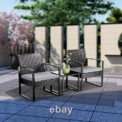 Rattan Garden Furniture Set Patio Conservatory Wicker chairs sofa Table Sets New