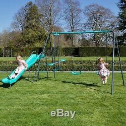 Rebo Childrens Metal Garden Play Set Range Swings & Slides