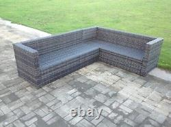 Right arm 8 seat rattan sofa table chair furniture set outdoor garden furniture