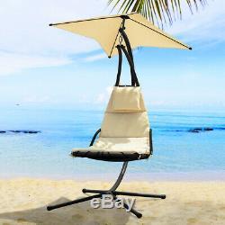 SoBuy Garden Patio Hammock Swing Chair SunBed Lounger Relaxing Chair, OGS39-MI, UK