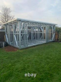 Steel Frames For Garden Rooms For DIY Builders