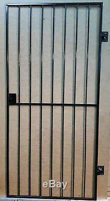 Steel Security Door, Gate. Metal Garden Side Gate / Wrought Iron Gate