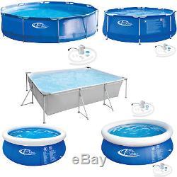 Swimming Pool Paddling Familiy Garden Outdoor Kids Fun Metal frame/Quick up