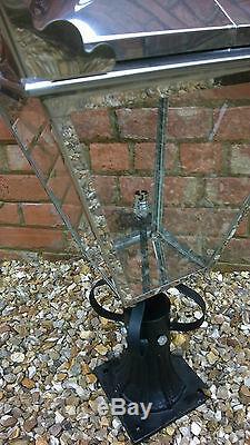 Victorian Lantern Lamp Post Top Garden Lighting Stainless Steel Not Copper 3032