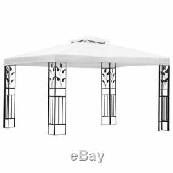 VidaXL Gazebo White 3x4m Outdoor Garden Canopy Marquee Party Tent Pavilion
