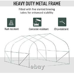 Walk-In Portable Greenhouse Garden Tunnel Shelter Plant Shed 4.5L X 3W X2H M
