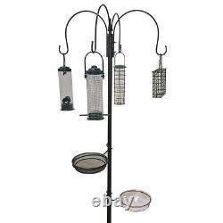Wild Bird Feeder Hanging Feeding Station Garden Water Bath Seed Tray Hammertone